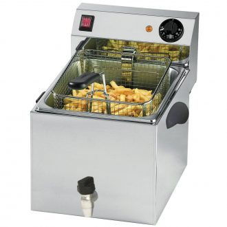 Electrical fryers with drain tap <br /><strong>FT LINE</strong>