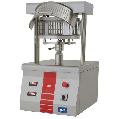 Pizza shaping machine with mechanical drive <br /><strong>PFC LINE</strong>