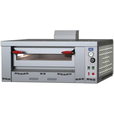 Gas pizza ovens with electronic ignition <br /><strong>MG LINE</strong>